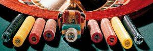 uitgestalde hulpmiddelen die bij het roulette spel kunnen worden gebruikt