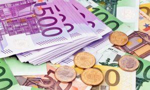 verschillende soorten euro biljetten